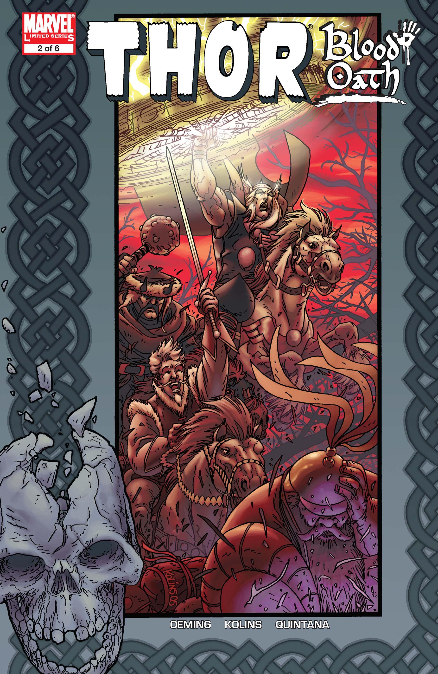 Thor: Blood Oath (2005) #2