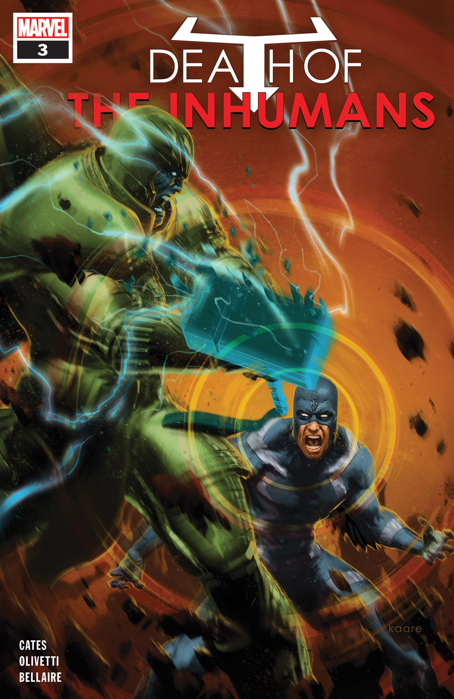 Death of the Inhumans (2018) #3