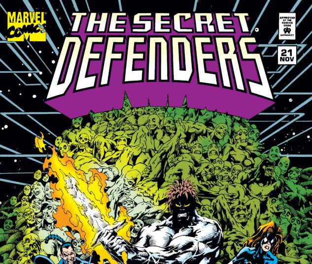 Cover from Secret Defenders (1993) #21