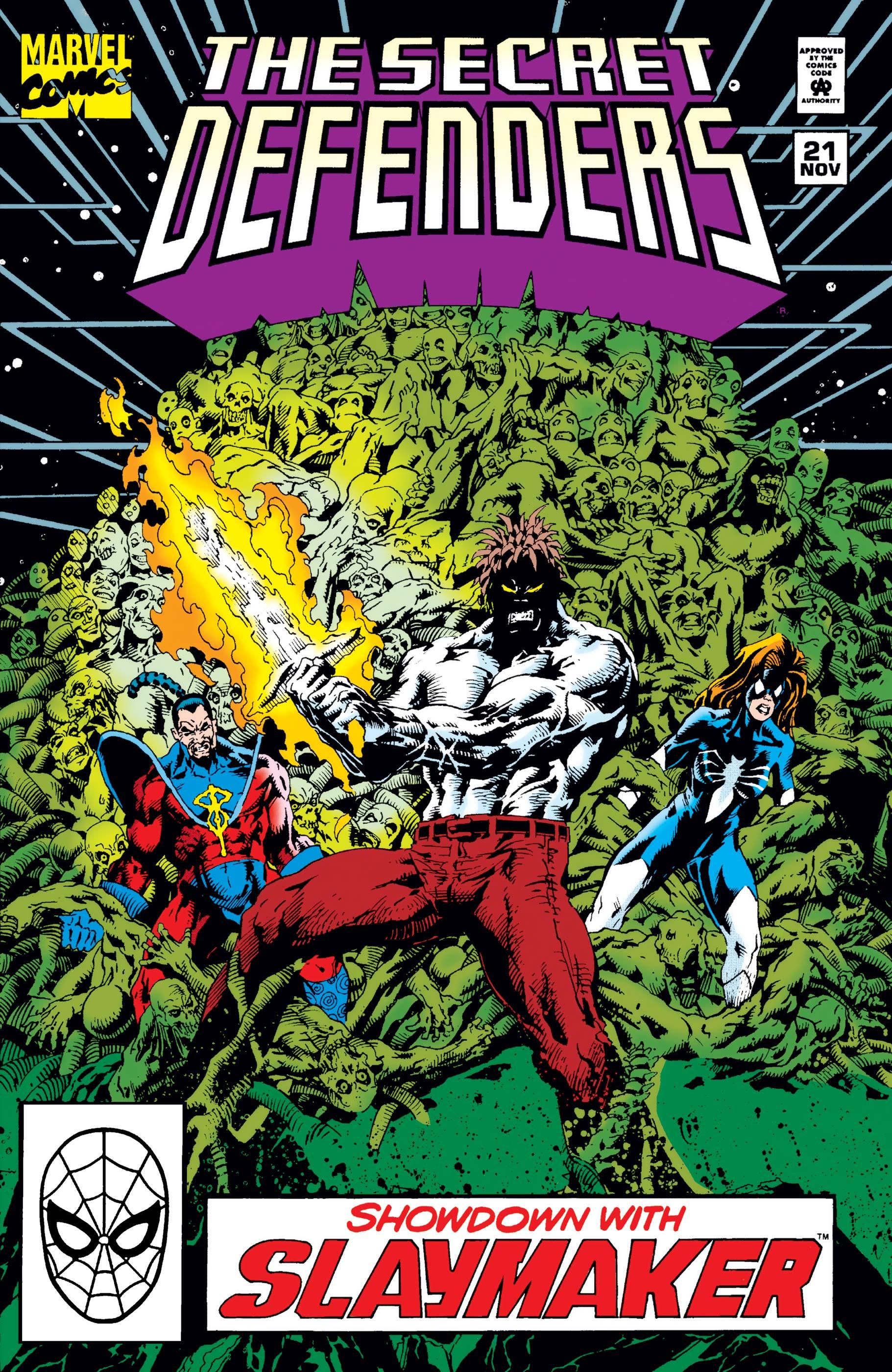 Secret Defenders (1993) #21