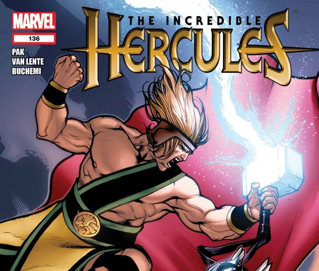 Incredible Hercules (2008) #136