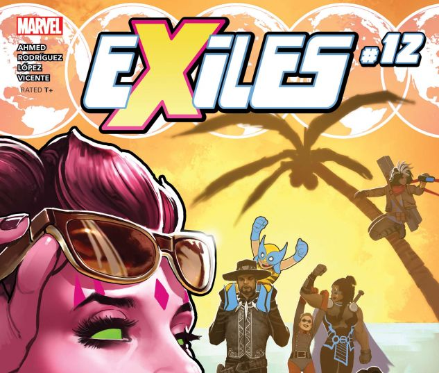 cover from Exiles (2018) #12