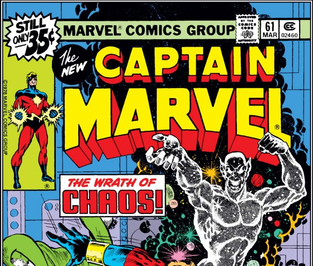 CAPTAIN MARVEL (1968) #61