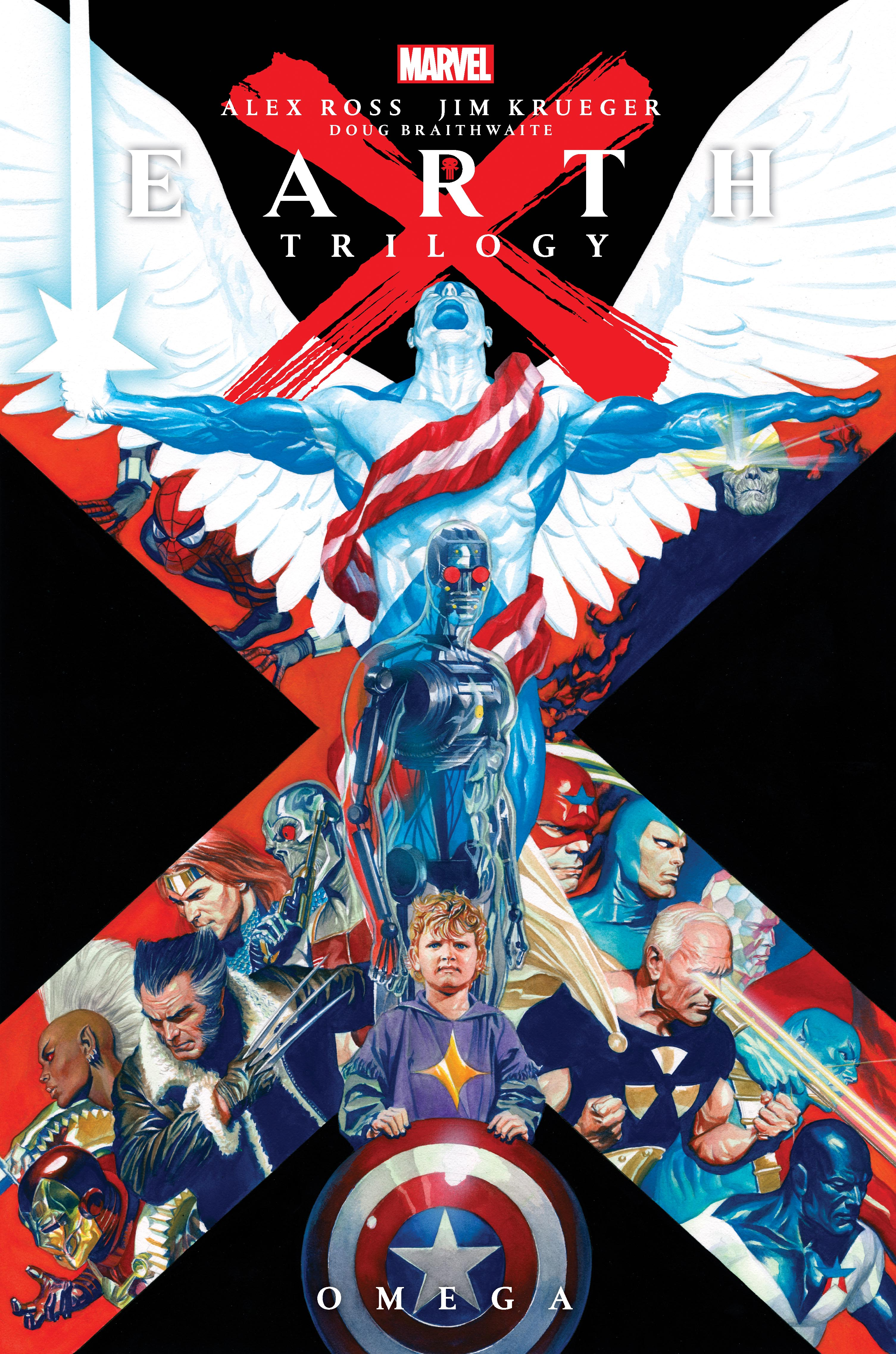 Earth X Trilogy Omnibus: Omega (Hardcover)