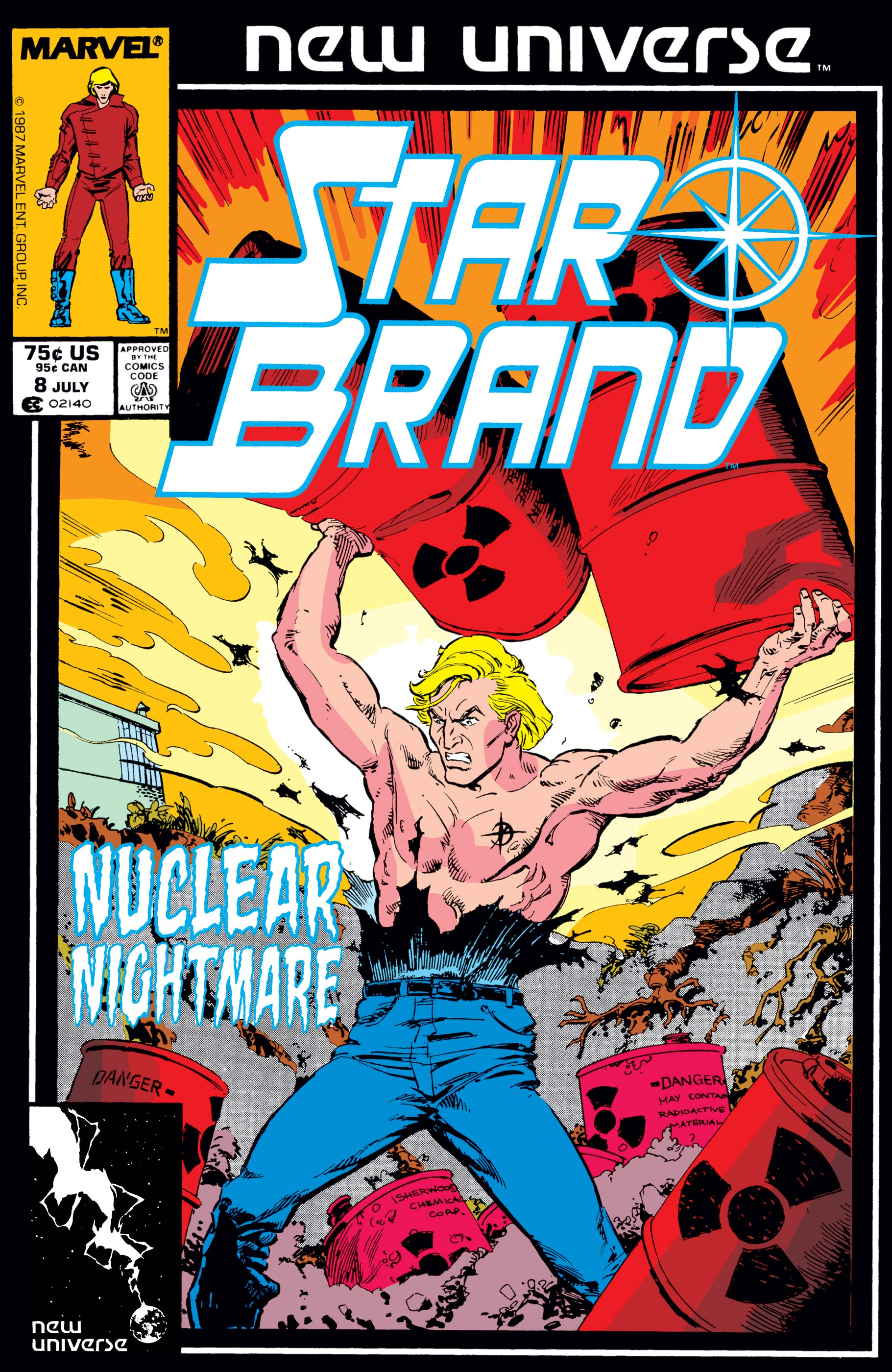 Star Brand (1986) #8