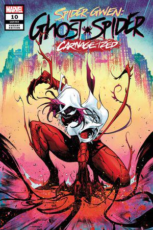 Spider-Gwen: Ghost-Spider (2018) #10 (Variant)