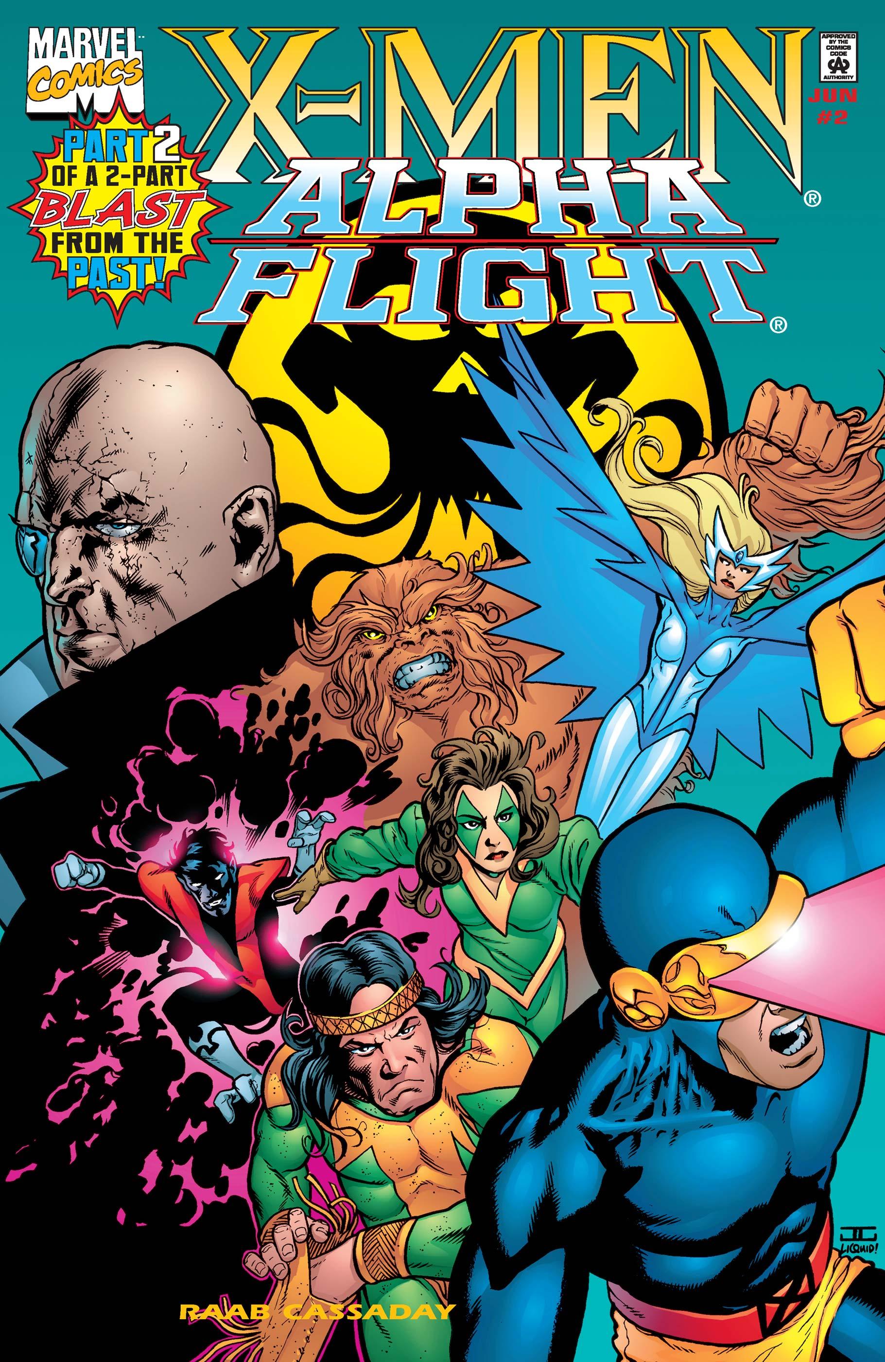 X-Men/Alpha Flight (1998) #2