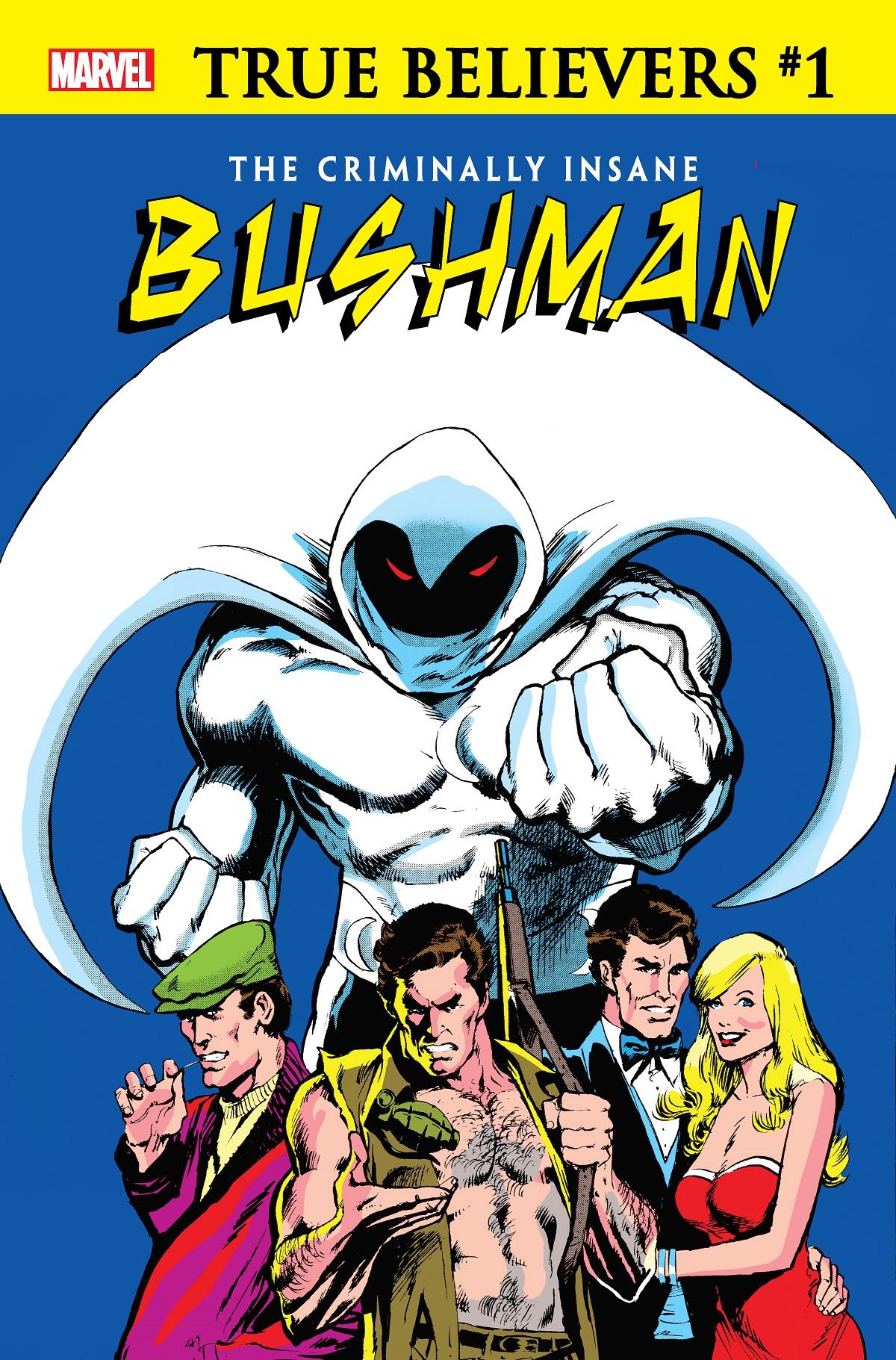 True Believers: The Criminally Insane - Bushman (2020) #1