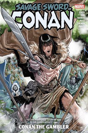 Savage Sword Of Conan: Conan The Gambler (Trade Paperback)