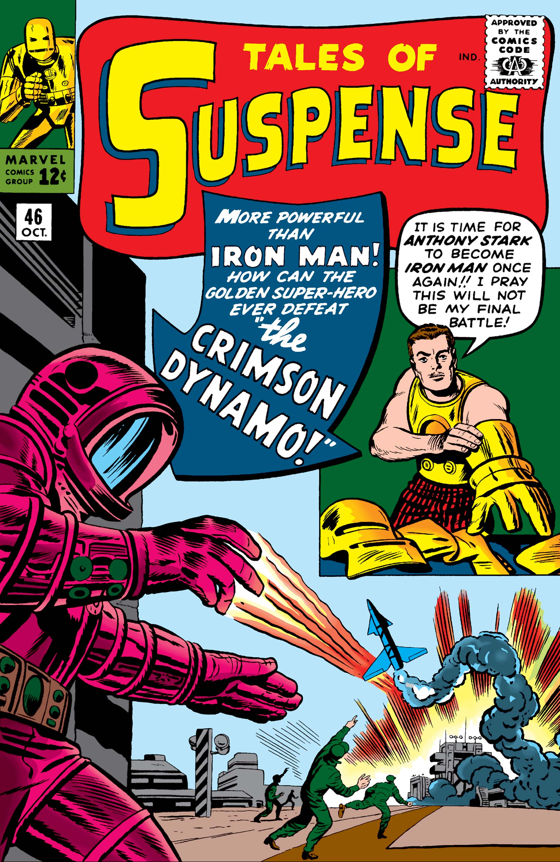 Tales of Suspense (1959) #46
