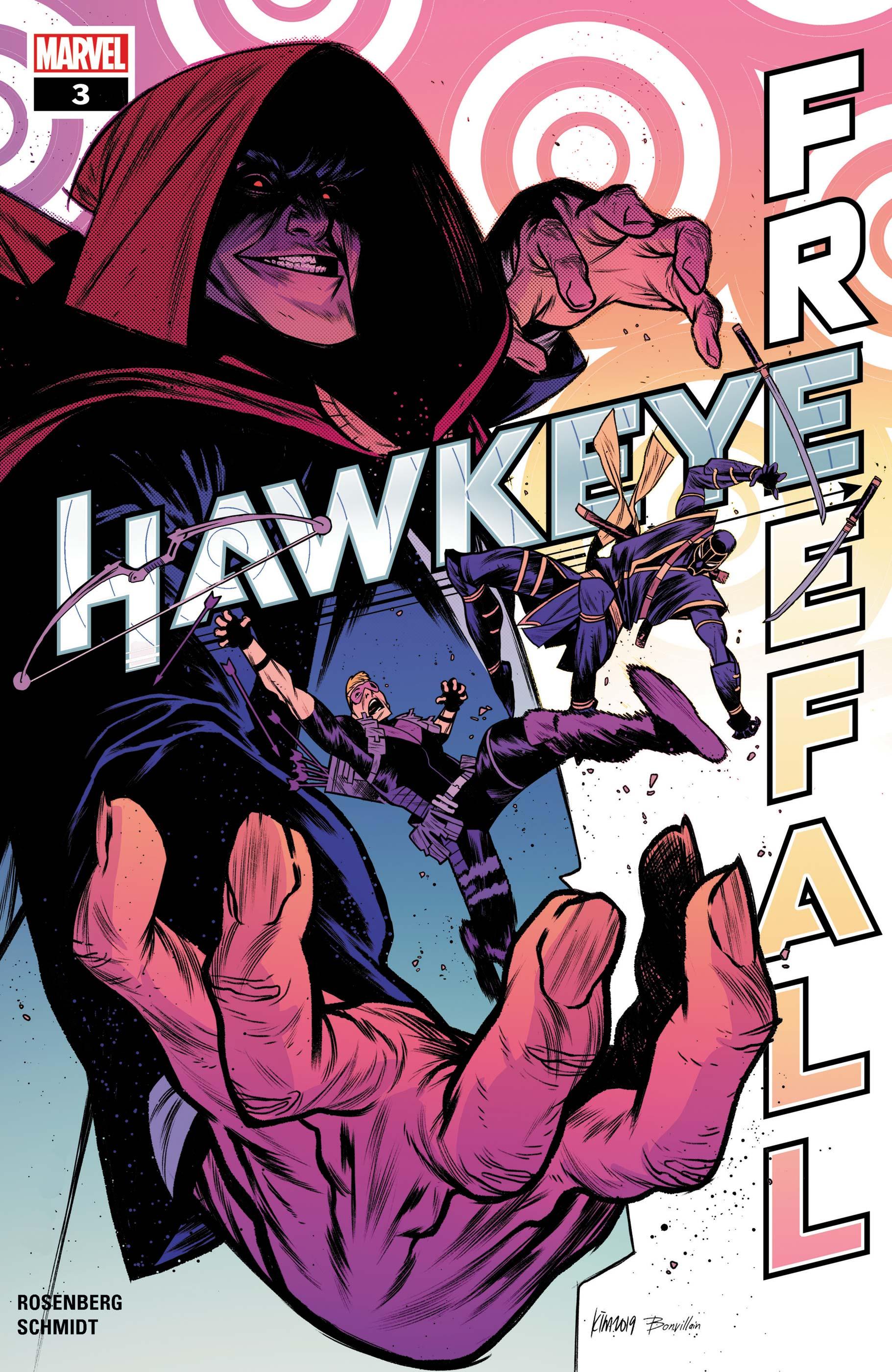 Hawkeye: Freefall (2020) #3