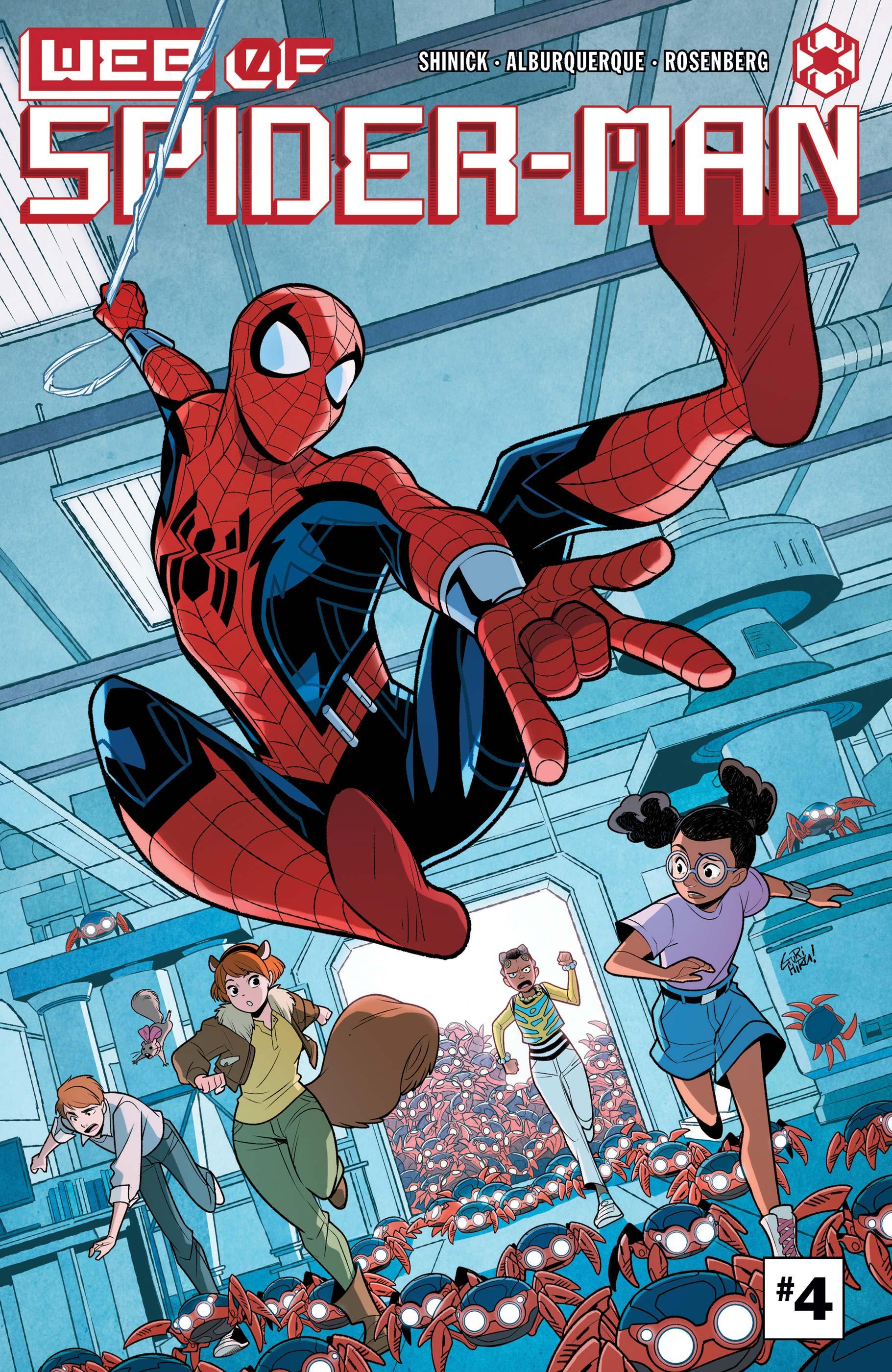 W.E.B. of Spider-Man (2021) #4