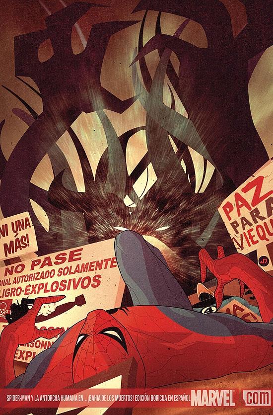 Spider-Man Y La Antorcha Humana En...Bahia De Los Muertos! (2009) #1 (EDICION BORICUA EN ESPANOL)