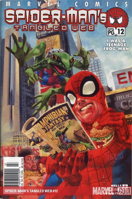 Spider-Man's Tangled Web (2001) #12
