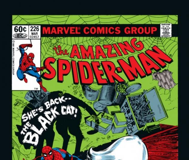 AMAZING SPIDER-MAN #226 COVER