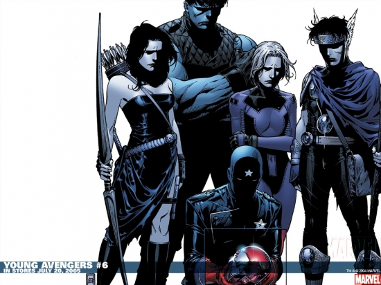 Young Avengers (2005) #6 Wallpaper