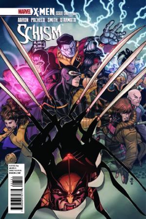 X-Men: Schism (2011) #1 (Bradshaw Variant)