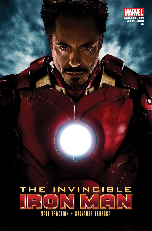 Invincible Iron Man (2008) #25 (MOVIE VARIANT)