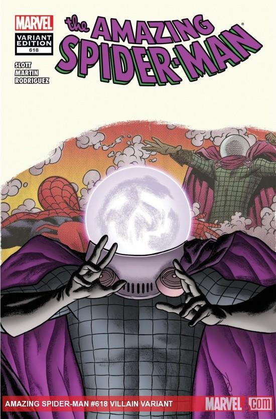 Amazing Spider-Man (1999) #618 (VILLAIN VARIANT)
