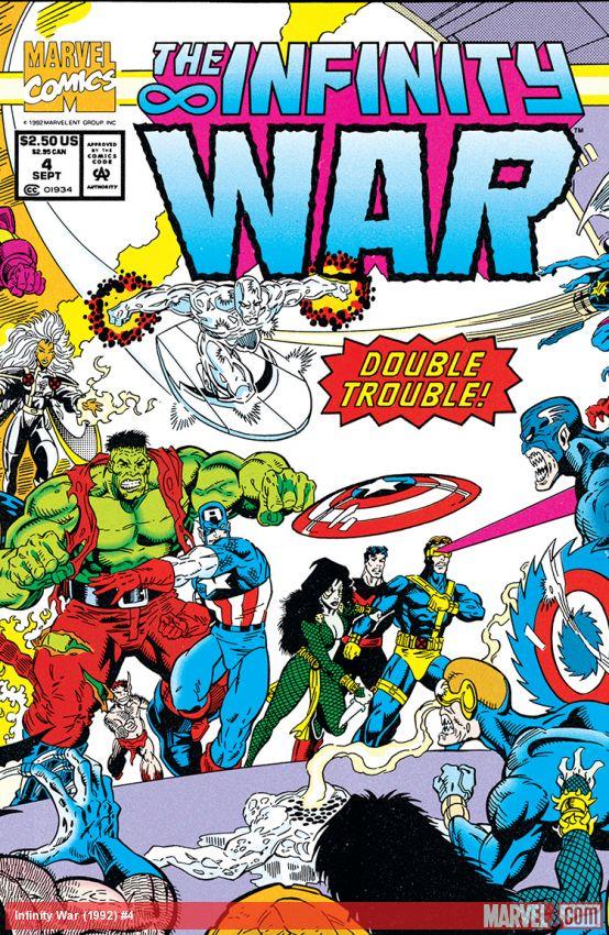 Infinity War (1992) #4