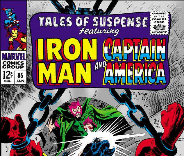 Tales of Suspense (1959) #85 Cover