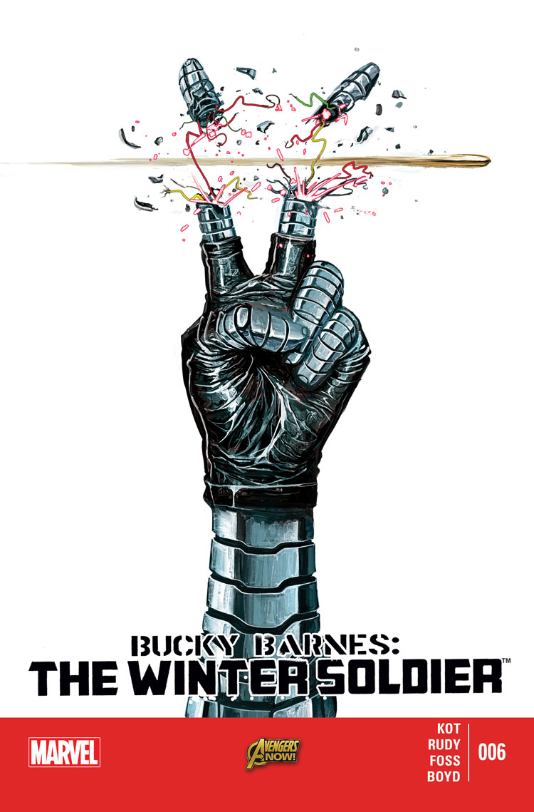 Bucky Barnes: The Winter Soldier (2014) #6