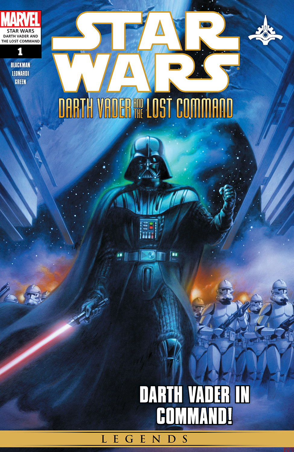 Star Wars: Darth Vader And The Lost Command (2011) #1