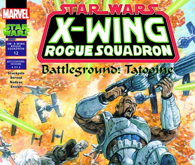 Star Wars: X-Wing Rogue Squadron (1995) #12