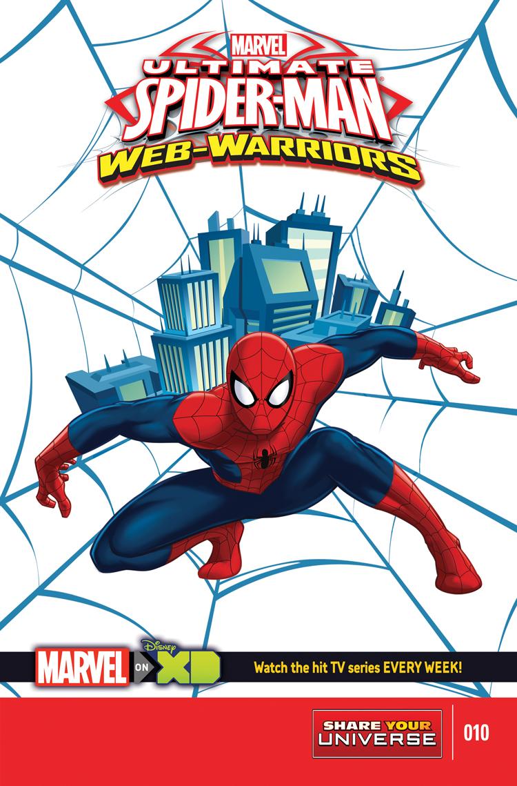 MARVEL UNIVERSE ULTIMATE SPIDER-MAN: WEB WARRIORS (2014) #10