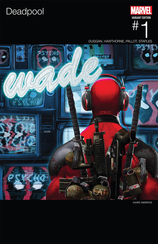 Deadpool (2015) #1 (Andrews Hip-Hop Variant)