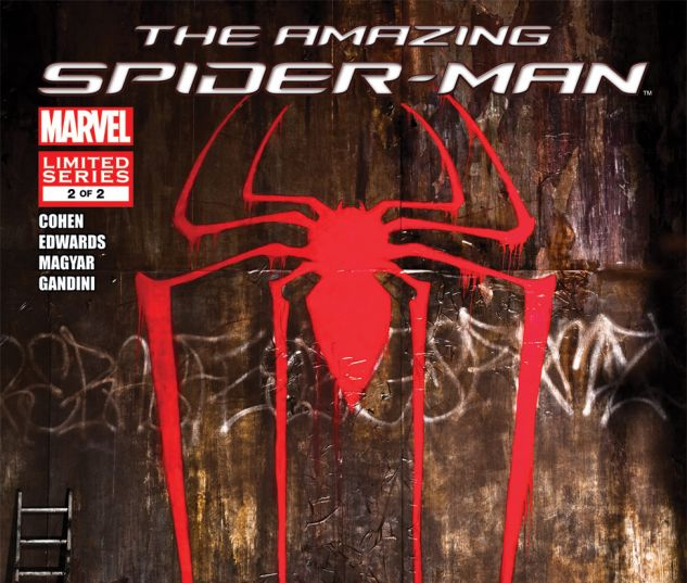 AMAZING SPIDER-MAN: THE MOVIE (2012) #2 Cover