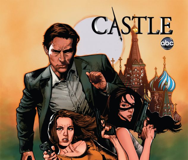 CASTLE: A CALM BEFORE STORM (2012) #1 Cover
