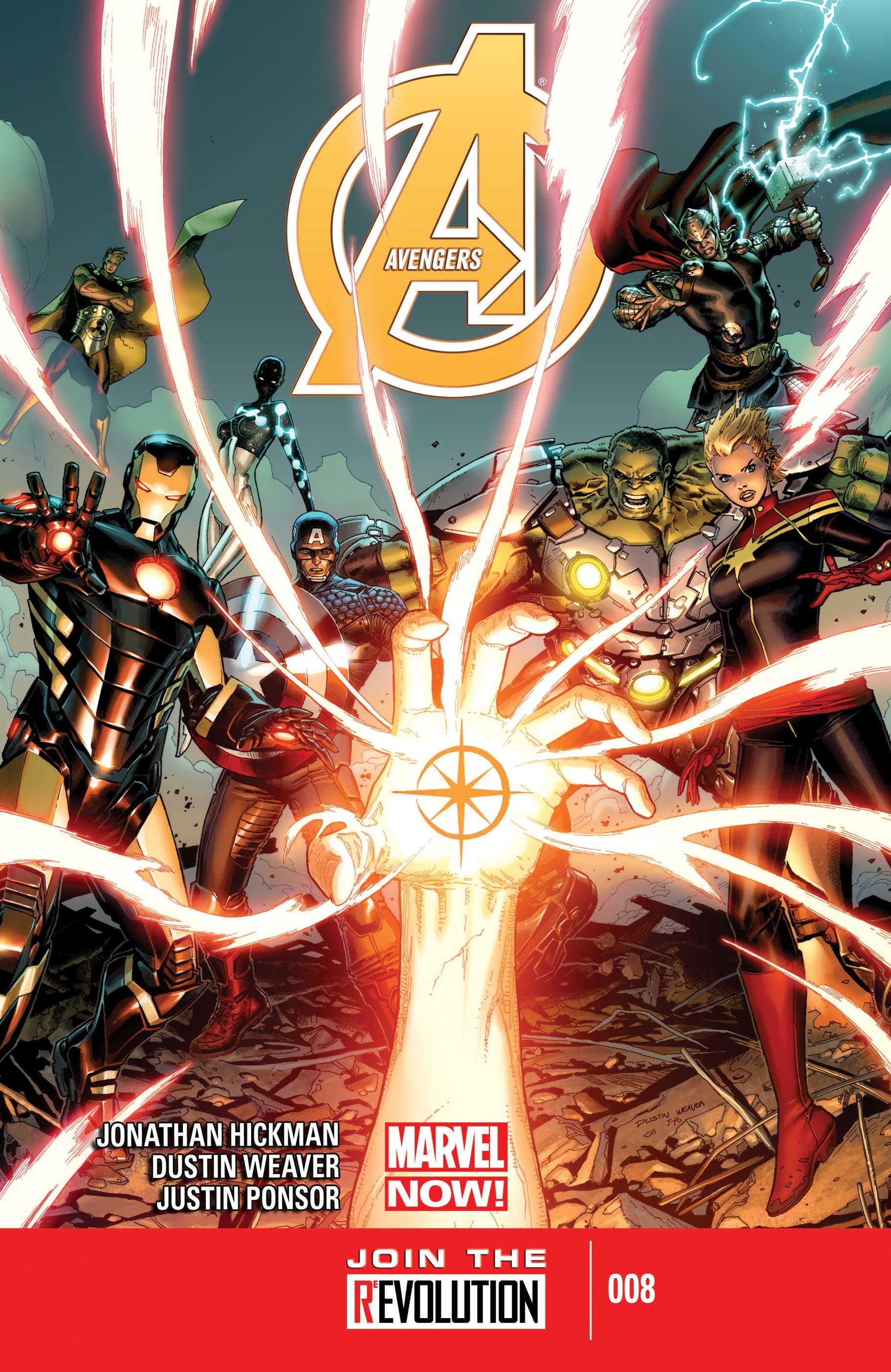 Avengers (2012) #8