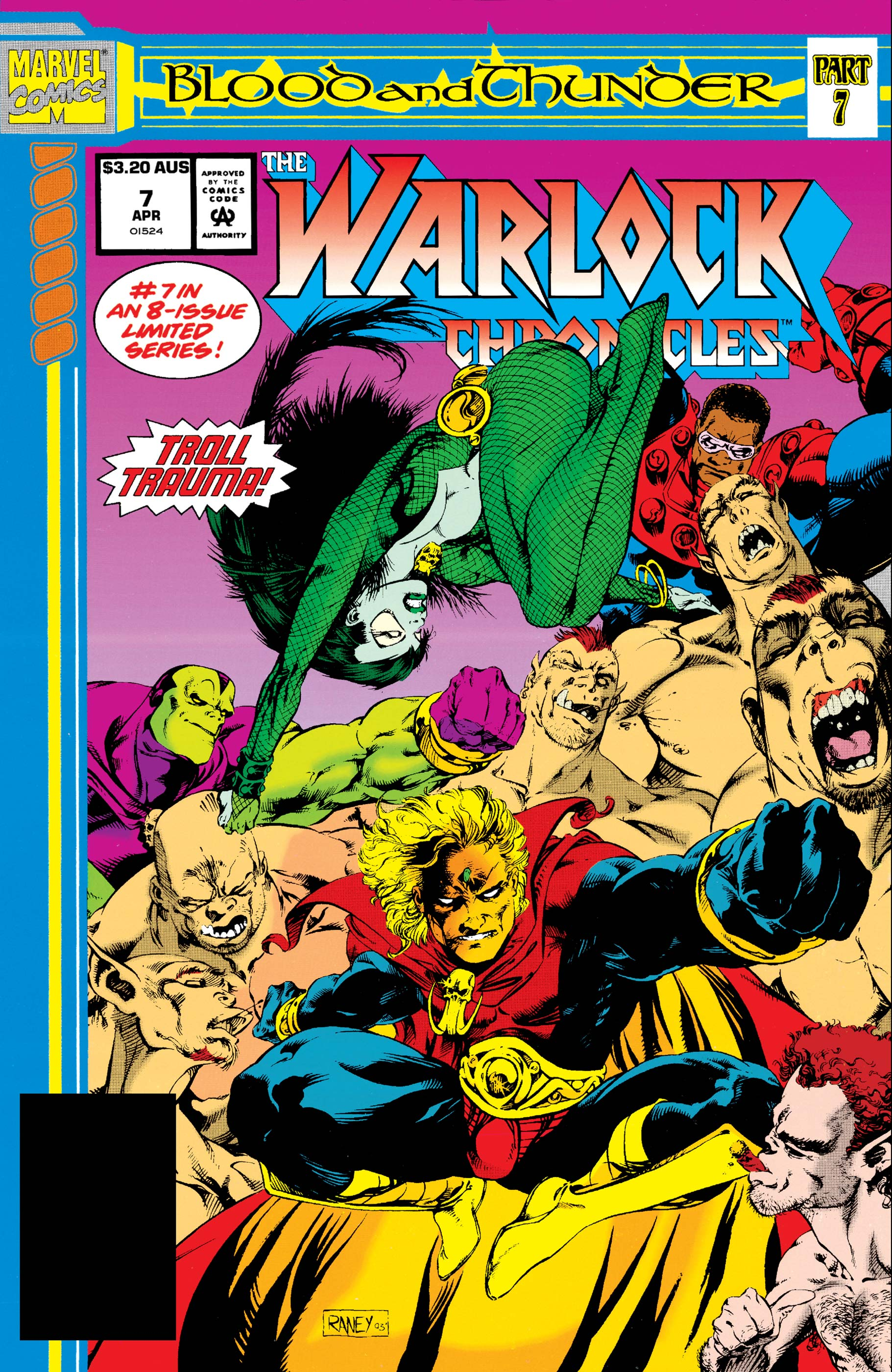 Warlock Chronicles (1993) #7
