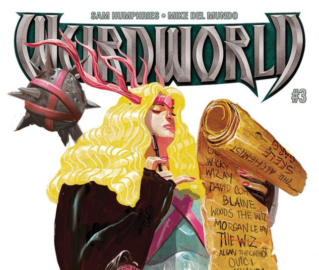 cover from Weirdworld (2015) #3
