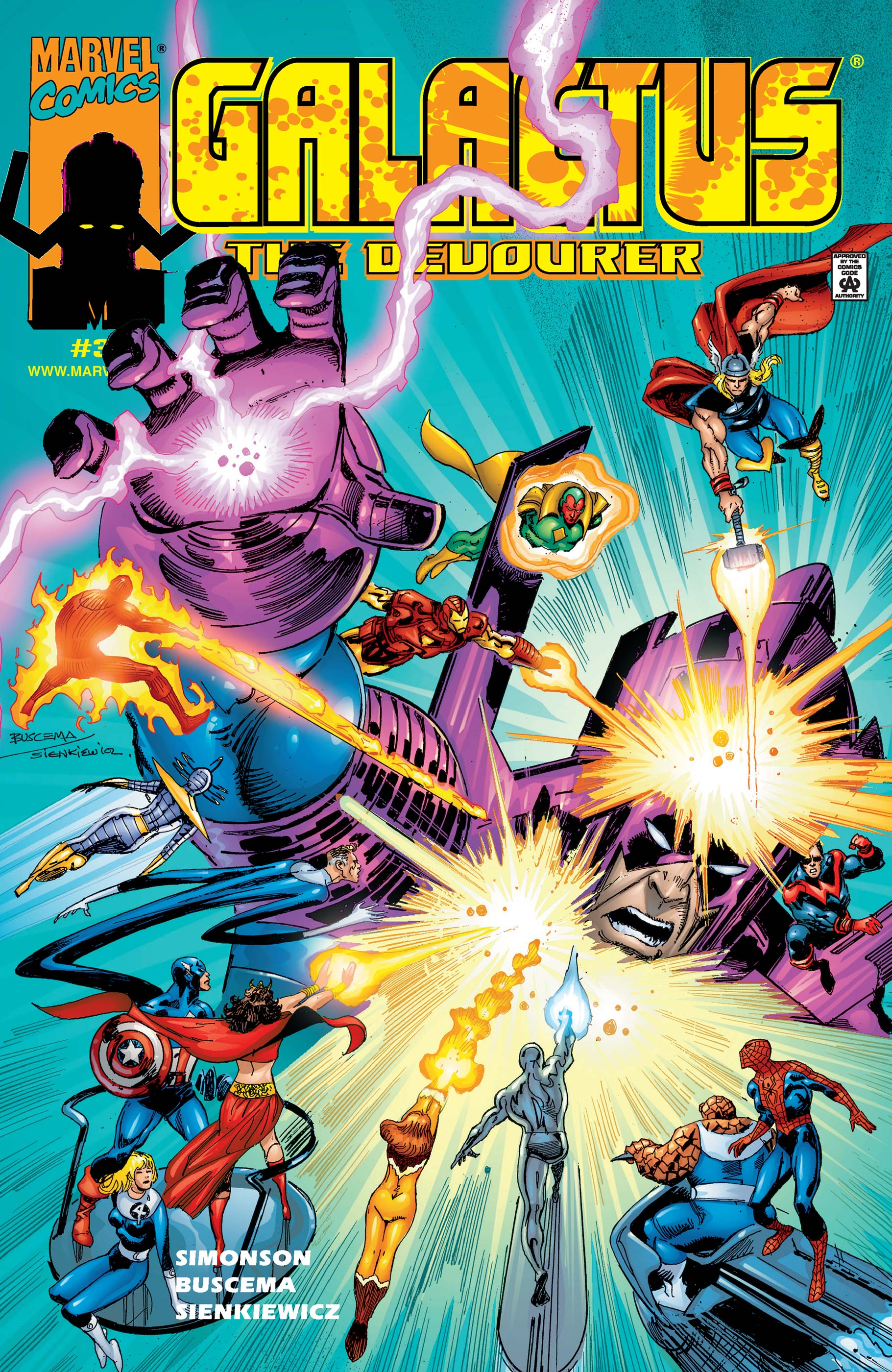 Galactus the Devourer (1999) #3