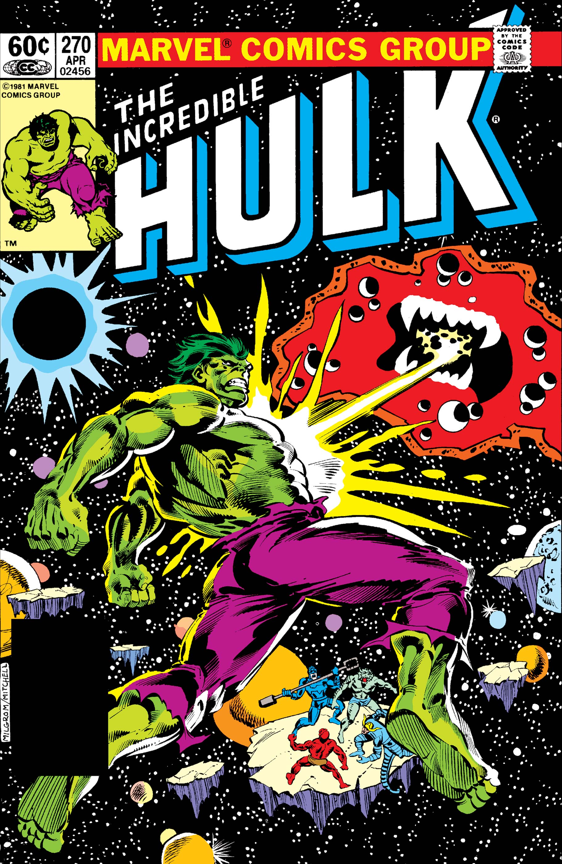 Incredible Hulk (1962) #270