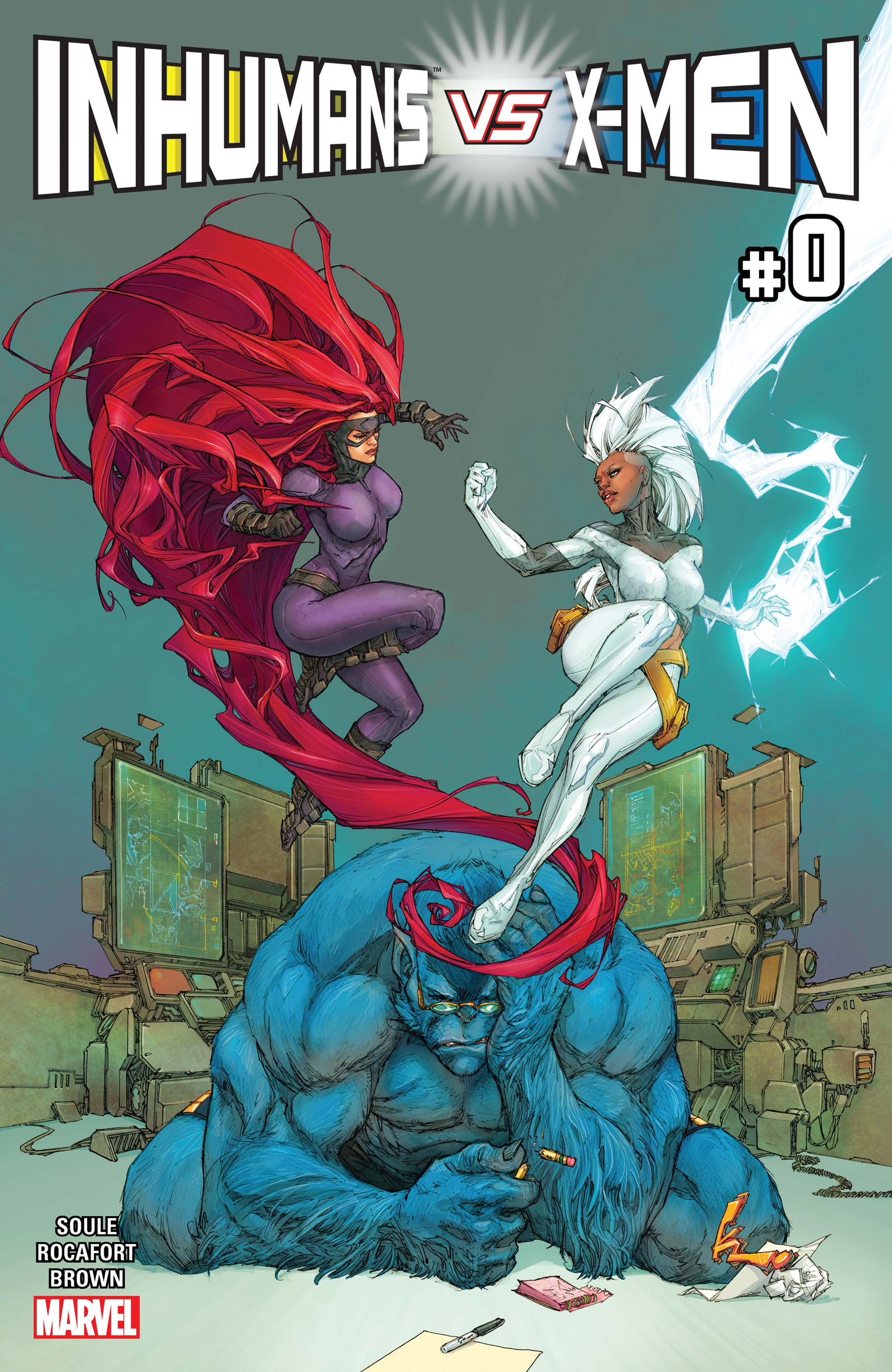 Inhumans vs. X-Men (2016)