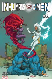Inhumans vs. X-Men #0