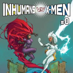 Inhumans vs. X-Men (2016 - Present)