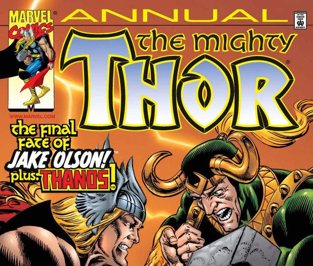 cover to Thor Annual 2000