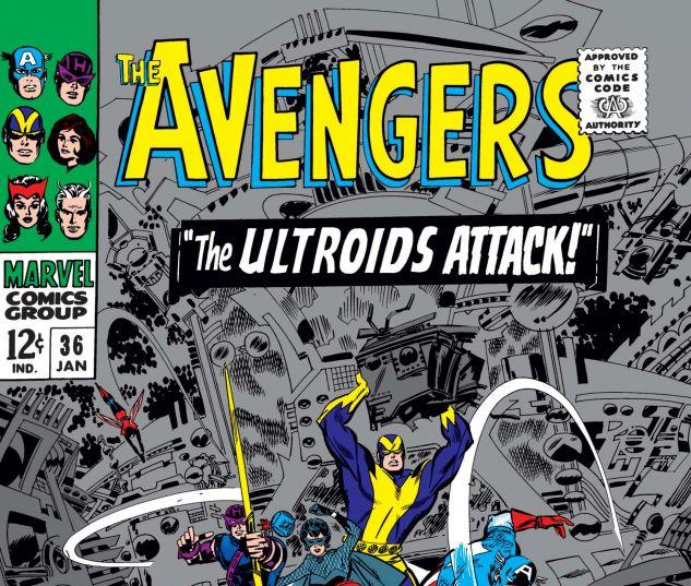 AVENGERS (1963) #36