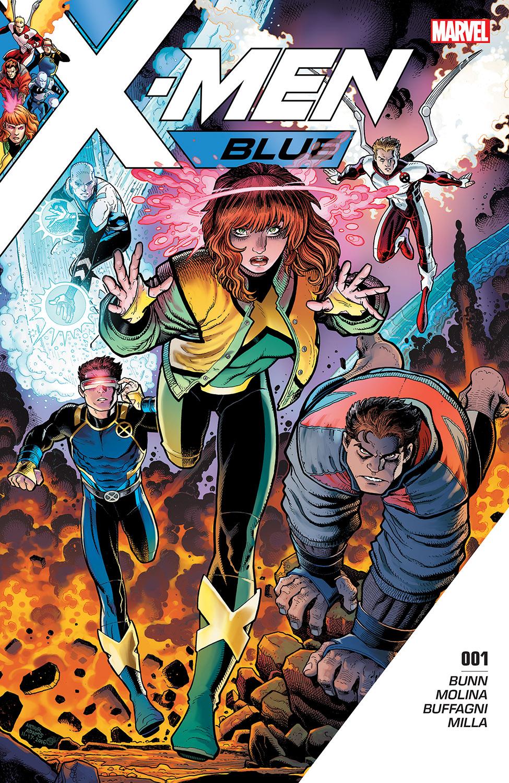 X-Men: Blue (2017) #1