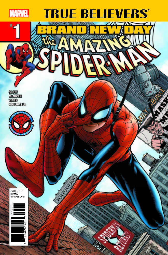 True Believers: Spider-Man - Brand New Day (2017) #1