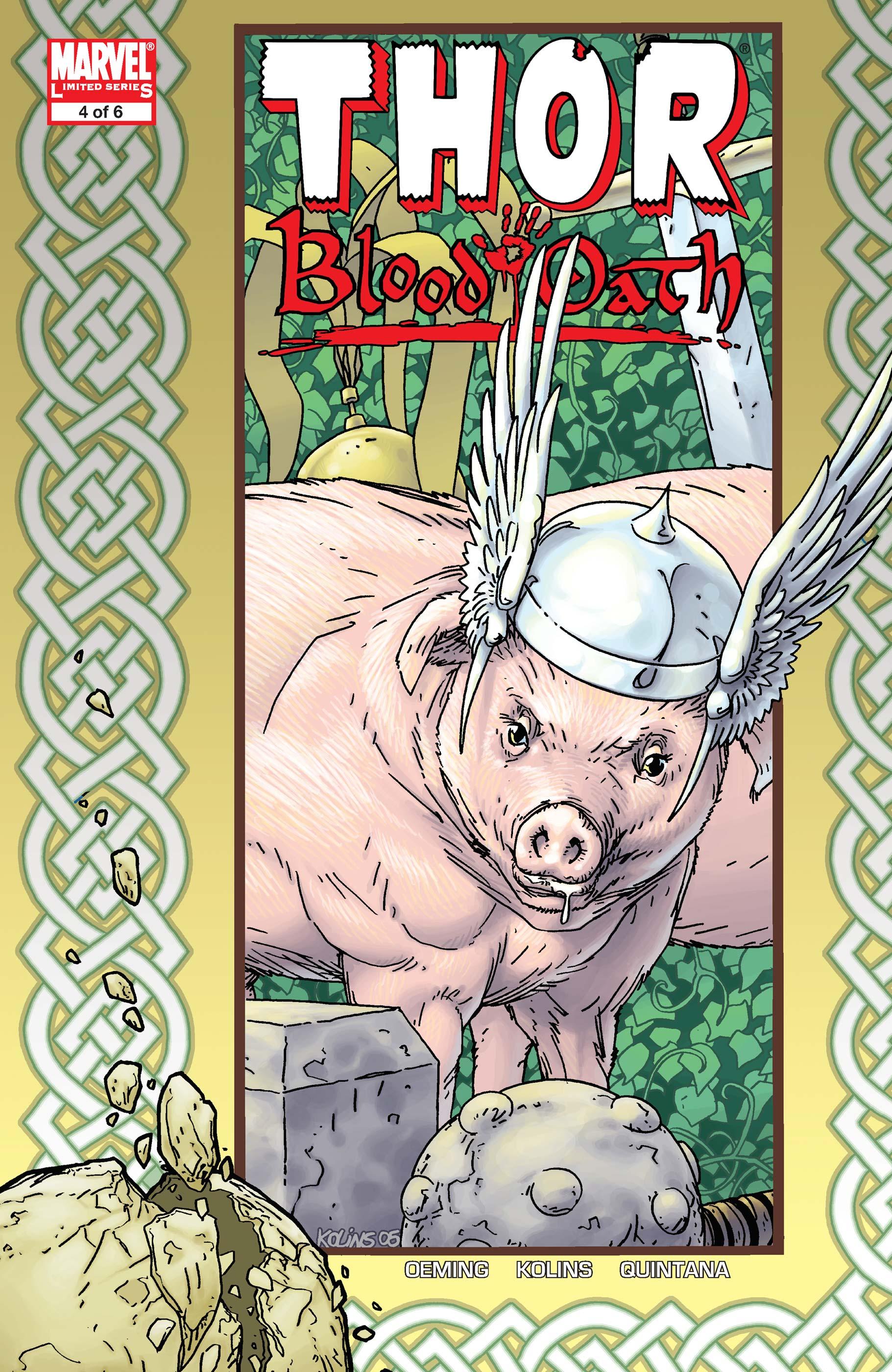 Thor: Blood Oath (2005) #4