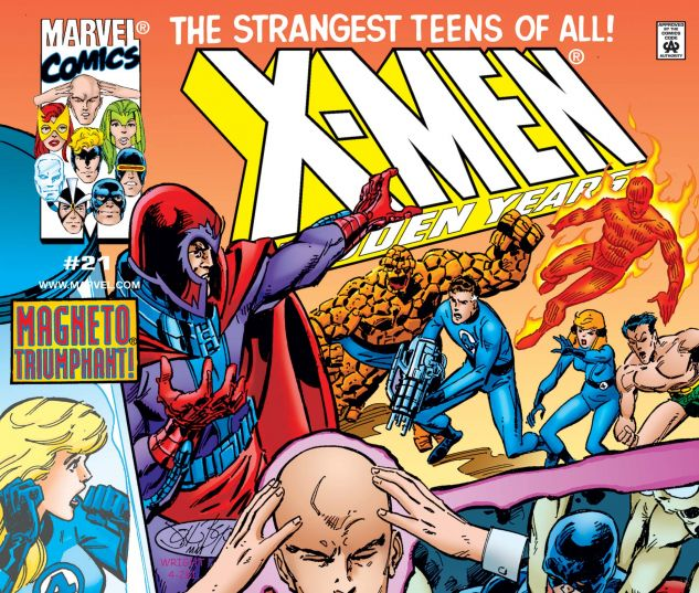 cover from X-Men the Hidden Years (1999) #21
