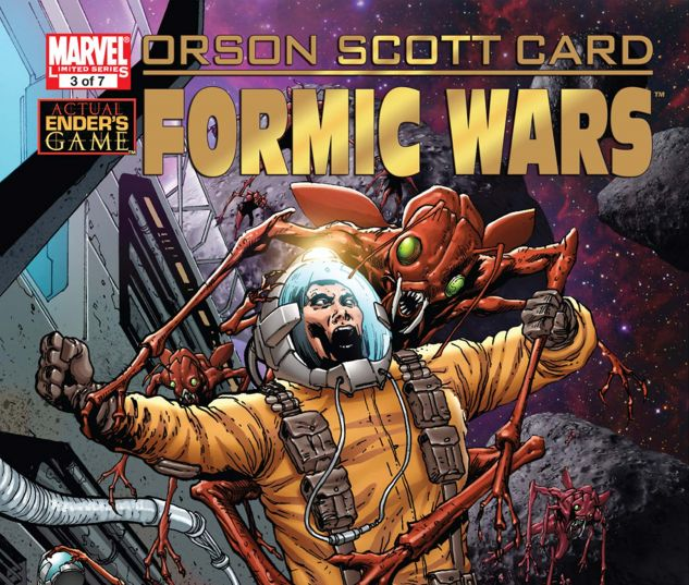 Formic Wars: Burning Earth (2011) #3