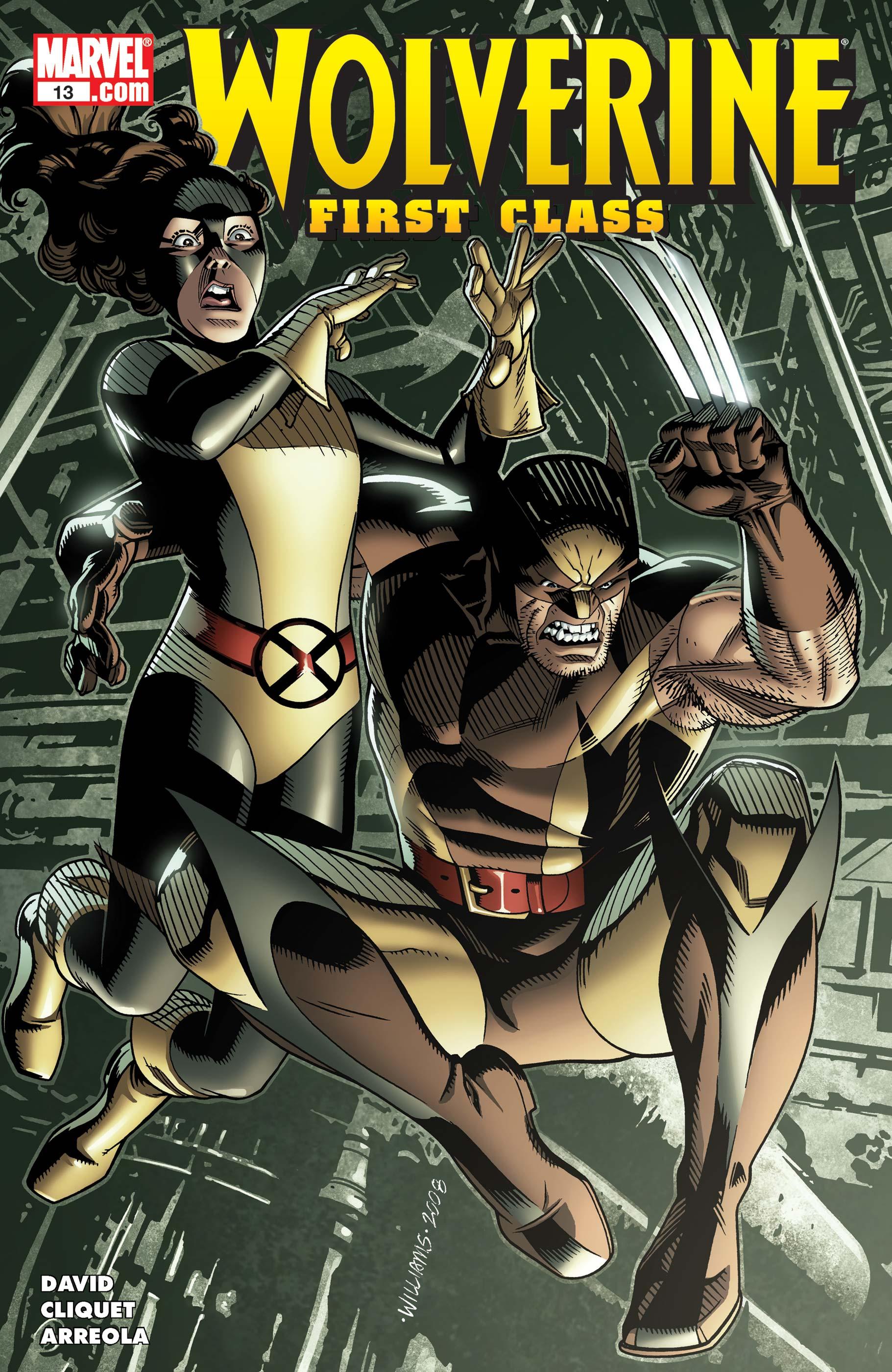 Wolverine: First Class (2008) #13