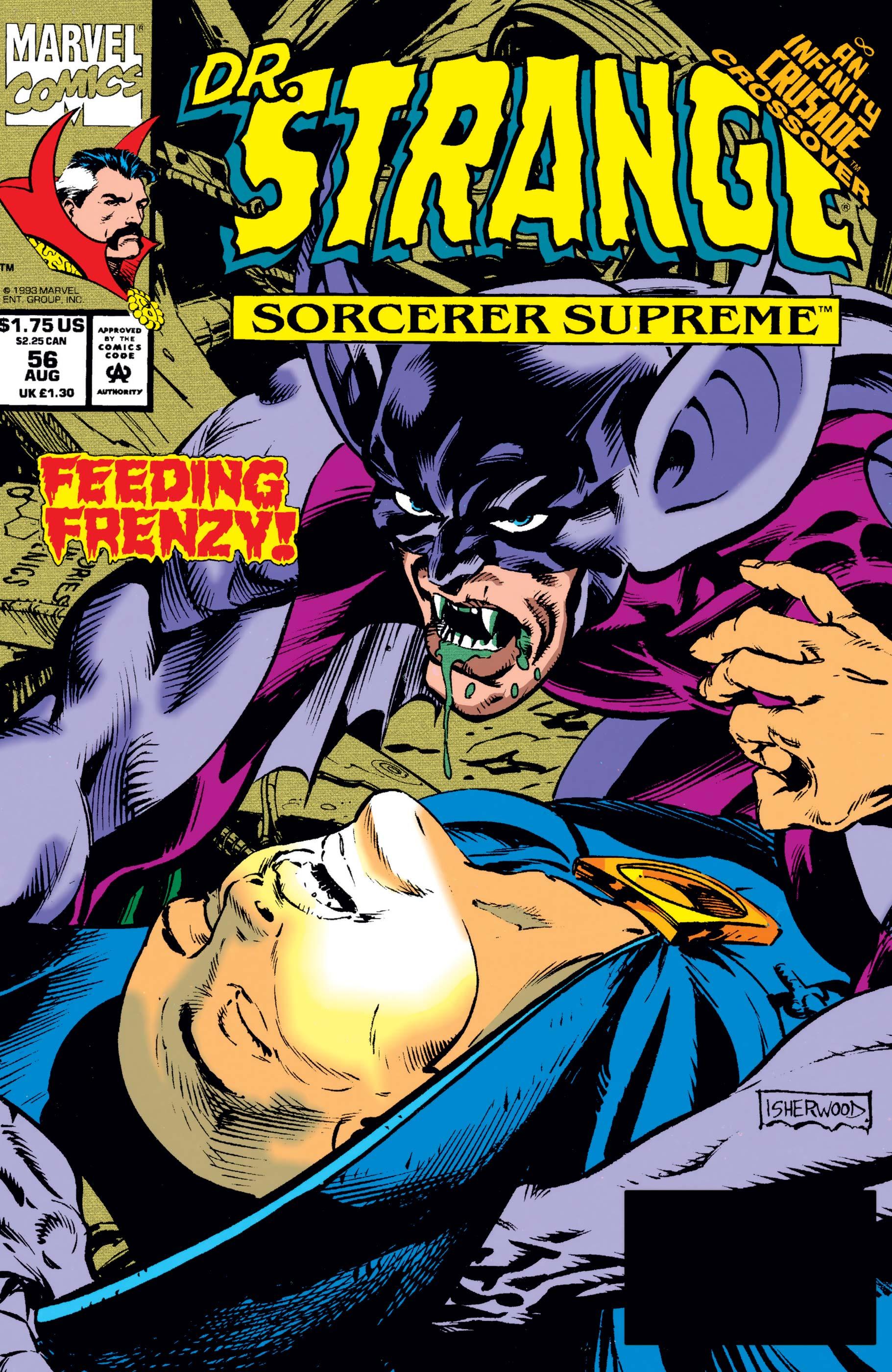 Doctor Strange, Sorcerer Supreme (1988) #56