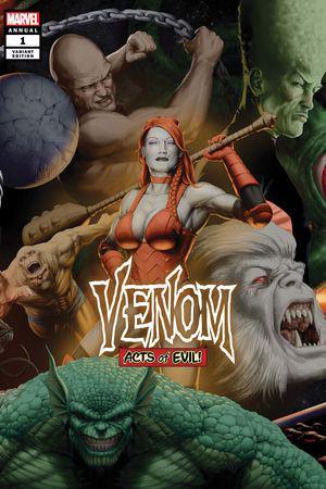 Venom Annual (2019) #1 (Variant)